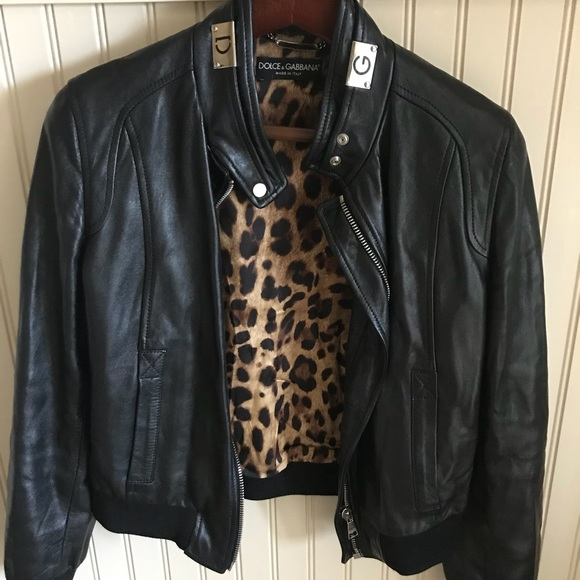 Discounts Dolce & Gabbana classic leather jacket Best Sale Cheap Online Low Shipping Fee Cheap Online Buy Cheap Amazing Price Sale Store btdHW4x